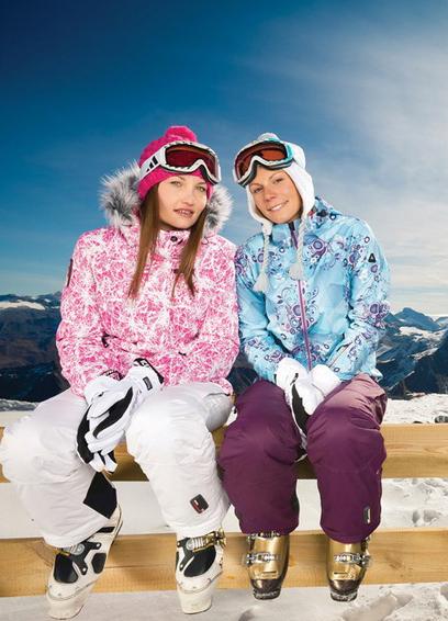 Женские зимние спортивные костюмы для прогулок