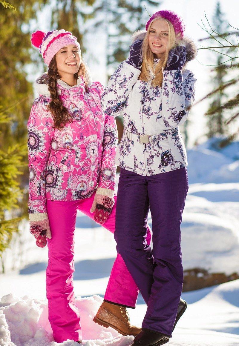 Зимние спортивные костюмы