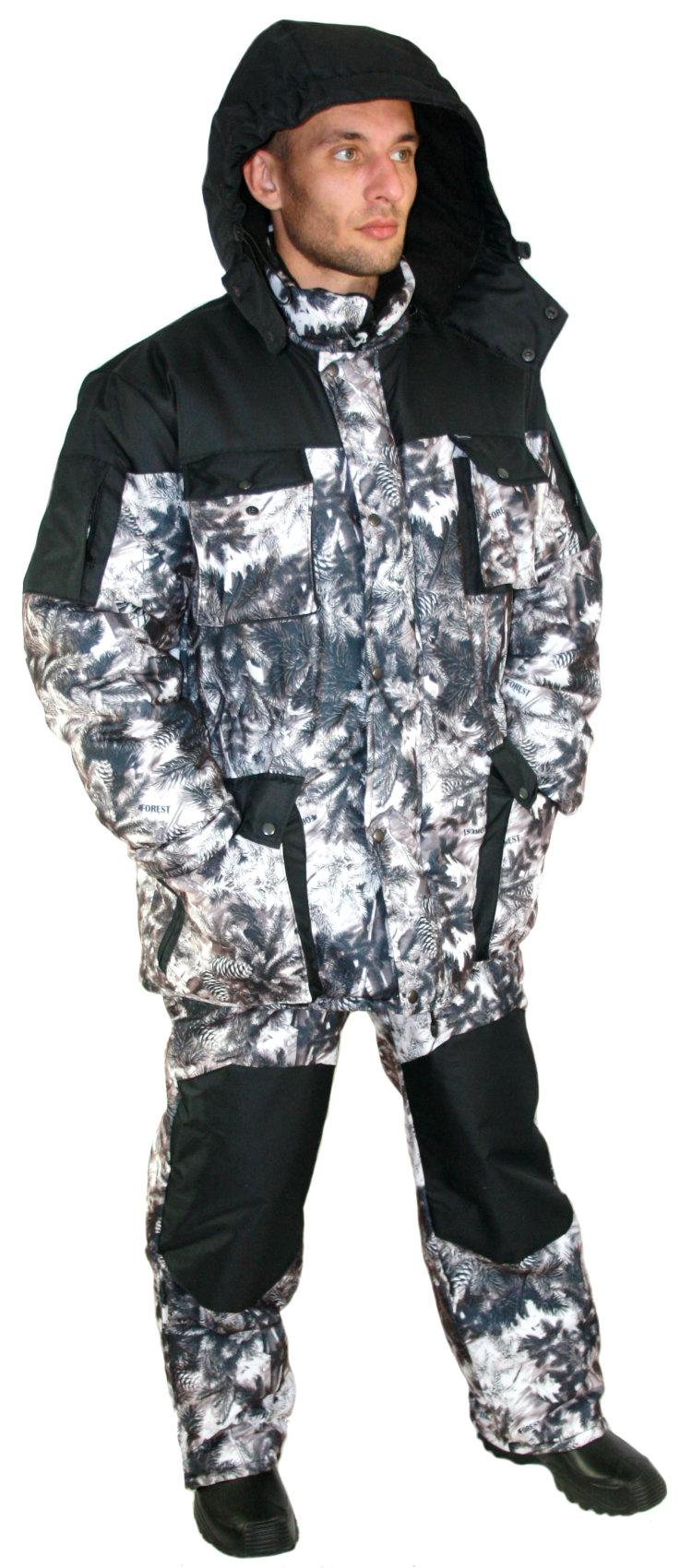 Зимняя одежда для охоты