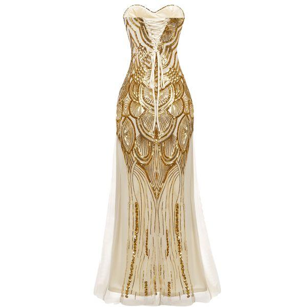Золотые оттенки женской одежды