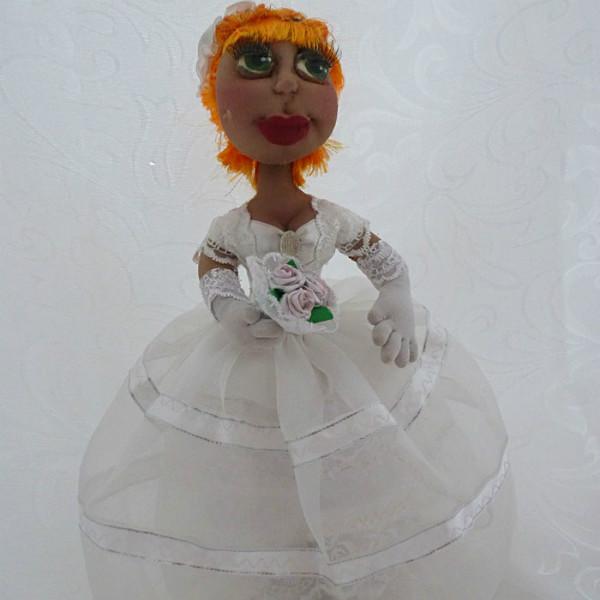 Авторская текстильная кукла ручной работы