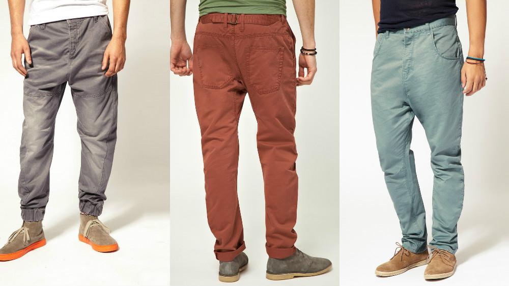 259ad2a7 Среди разнообразия моделей джинсов для мужчин обособленно стоят бананы. По  покрою они напоминают тропический фрукт, чем и объясняется такое название.