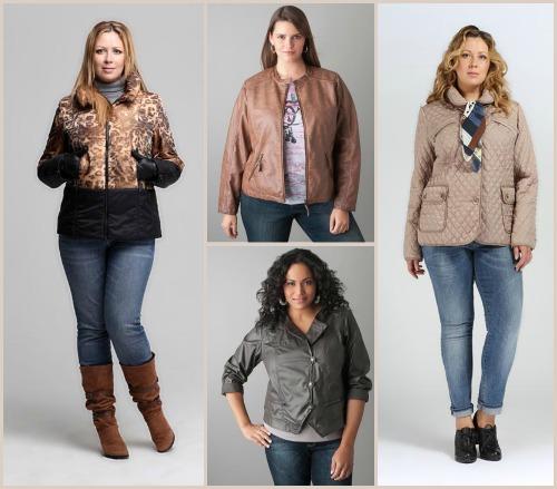 Большие размеры одежды для женщин