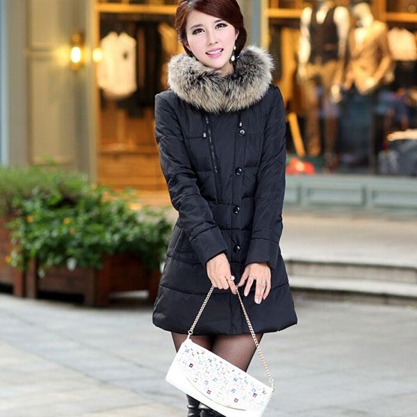 Черная зимняя одежда