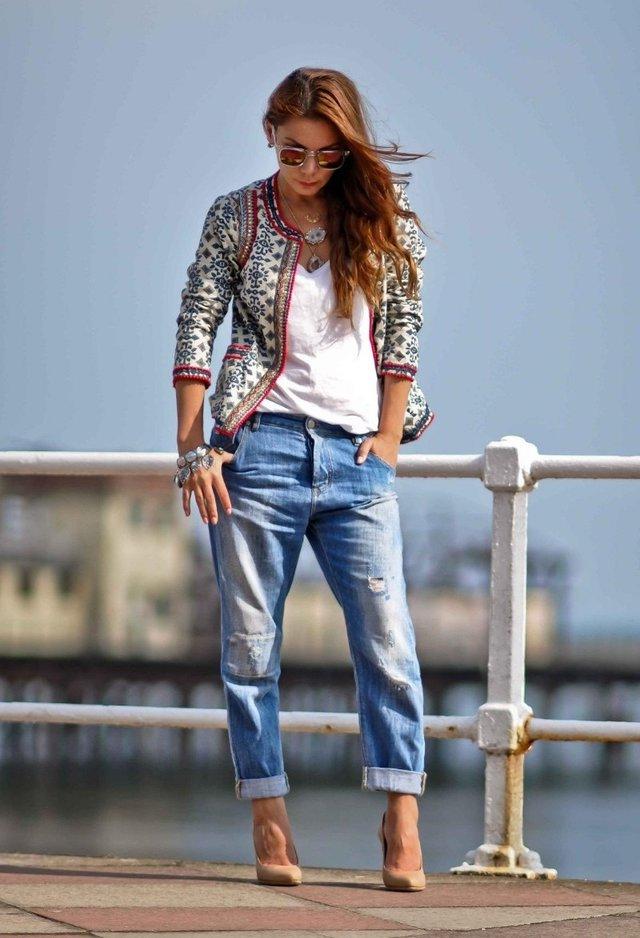 Что такое женские джинсы бойфренды
