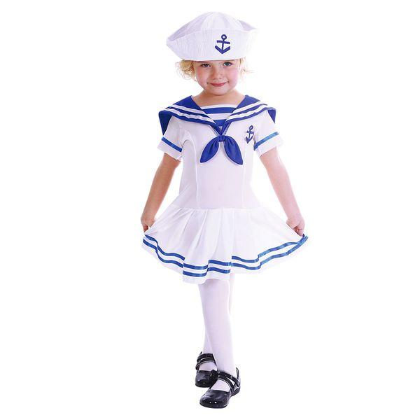 Девочка в наряде морячки
