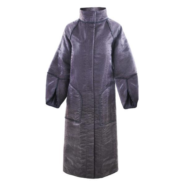 Длинное двустороннее пальто