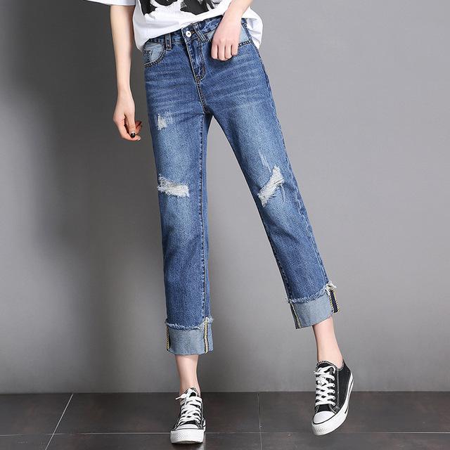 Для женщин прямые джинсы