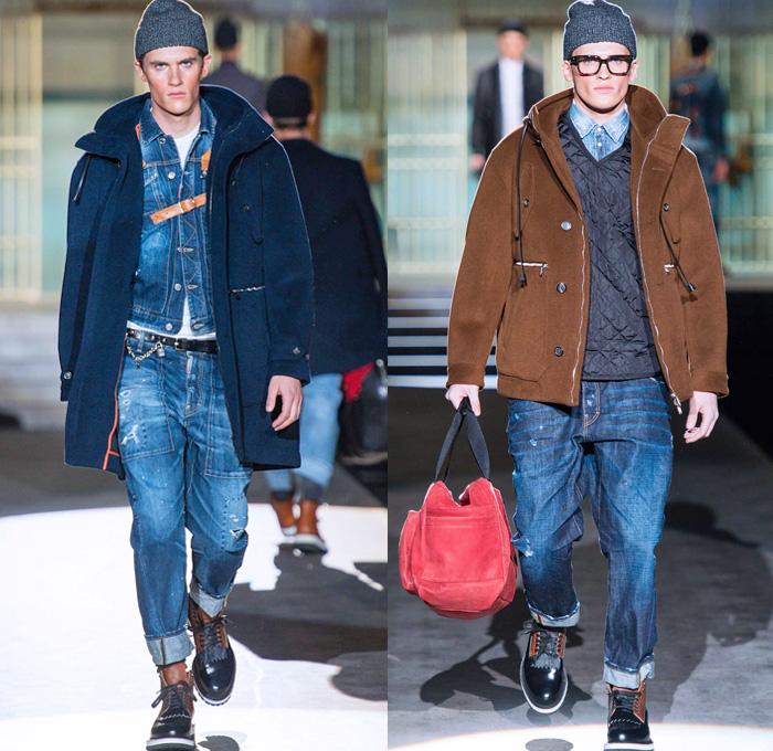 Джинсовые брюки для мужчин