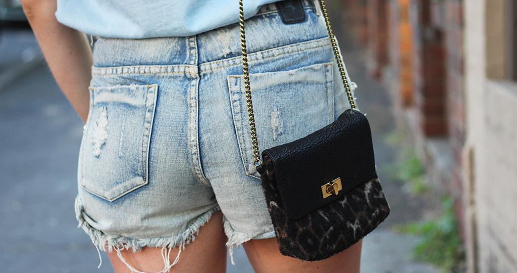 Джинсовые шорты - с чем носить и как сочетать