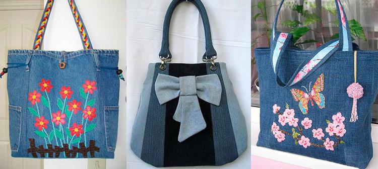 8b81b8d03ee3 Сумка из джинсов своими руками, плюсы и минусы изделия