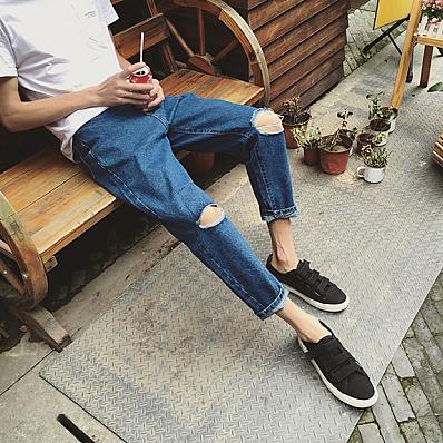 Джинсы в мужской моде