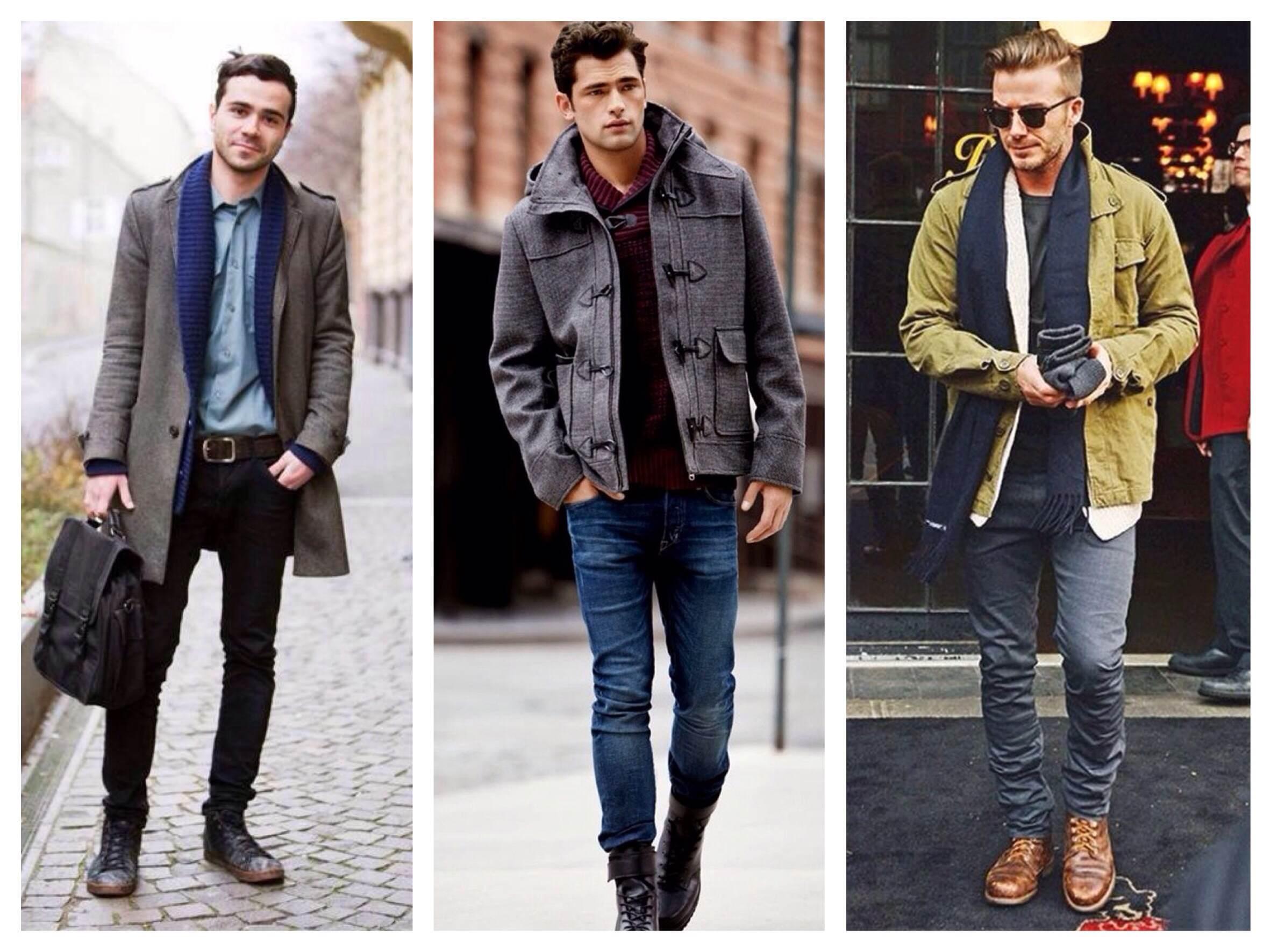 Джинсы в зимнем мужском гардеробе