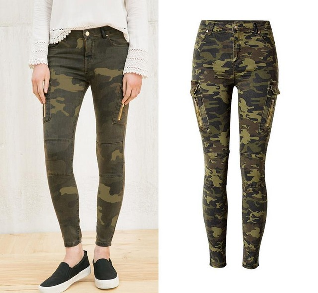 Эластичные джинсы