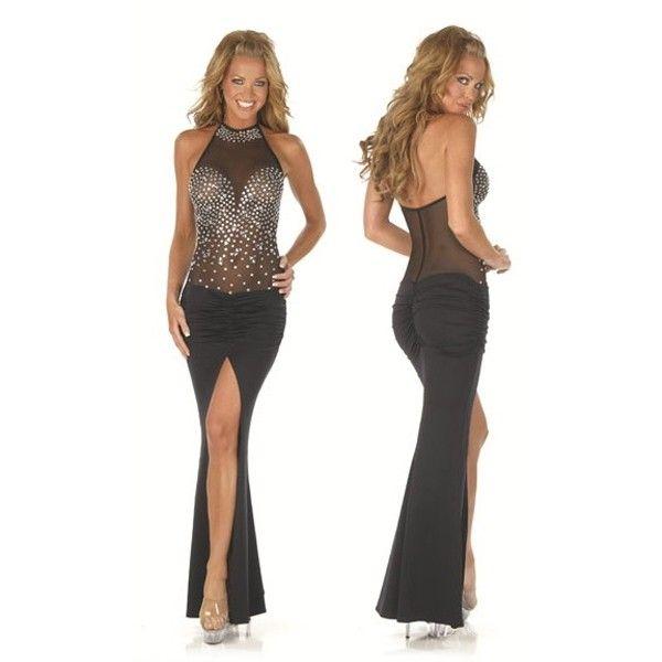Элегантное вечернее сексуальное платье