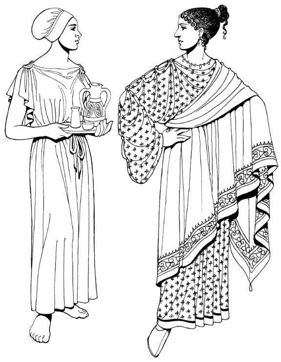 Греческие наряды