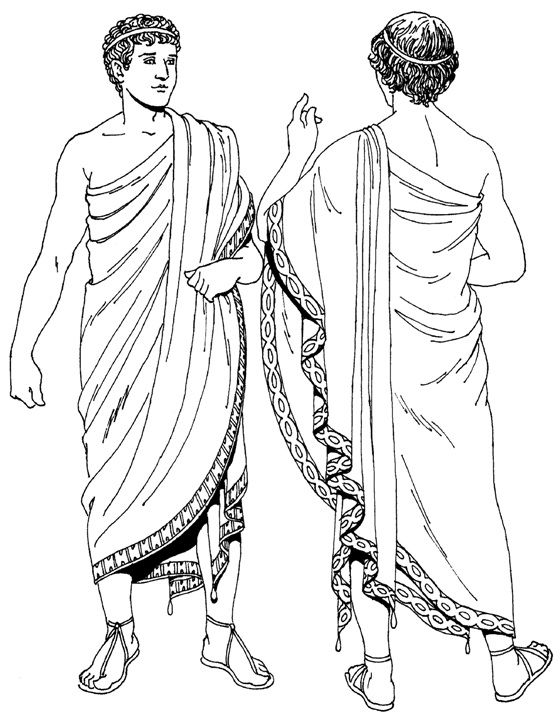 Греческий гимати