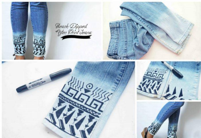 Идеи трансформации старых джинсов