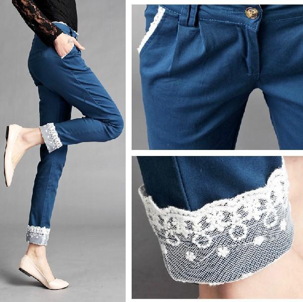 Interesnyj-variant-dekora Как удлинить джинсы