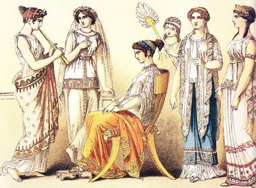Как одевались древние греки