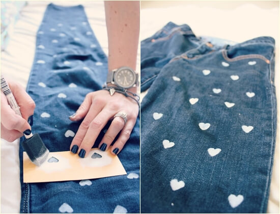 Как покрасить джинсы в домашних условиях и очистить от пятен