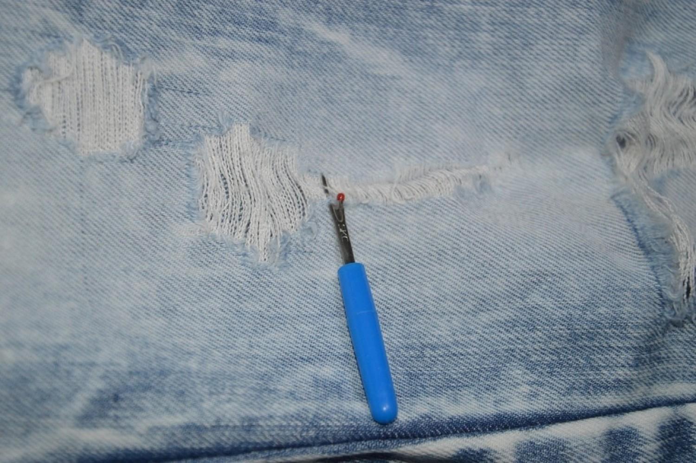 Как порвать джинсы