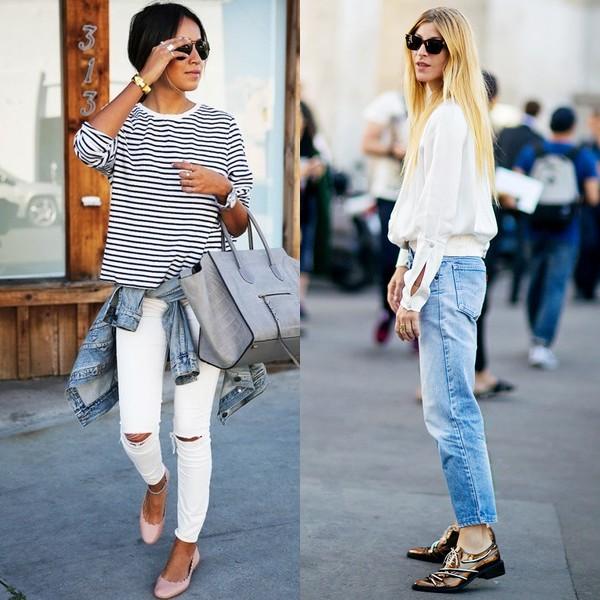 Как правильно носить современные джинсы