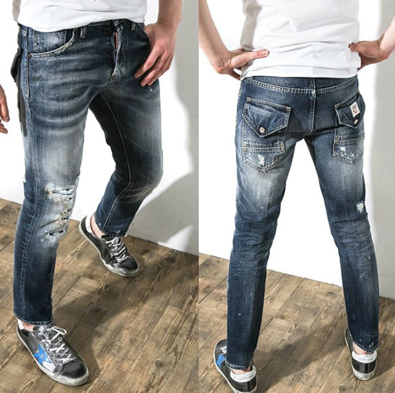Как правильно порвать джинсы