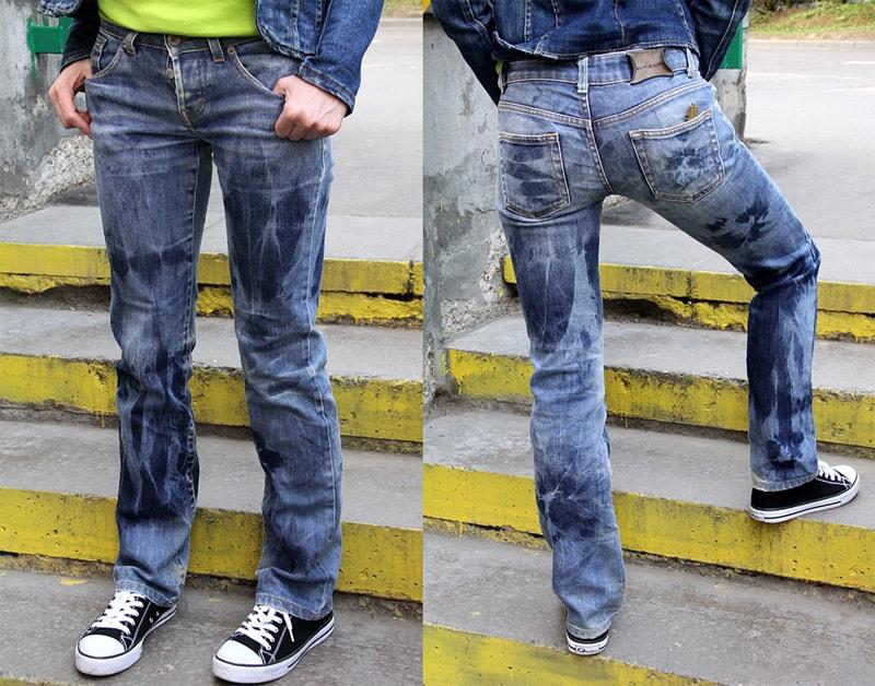 Как преобразить старые джинсы