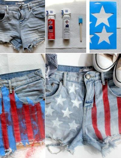 Как сделать старые джинсы
