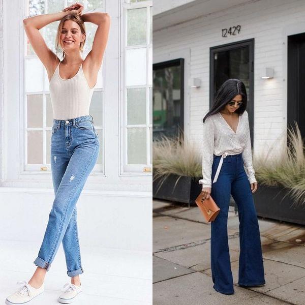 Каких цветов бывают летние женские джинсы