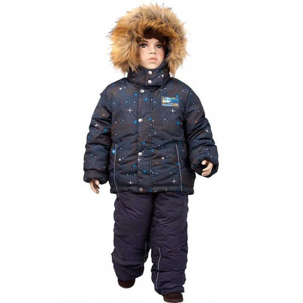 Комплект для мальчика зимний (куртка + комбинезон)