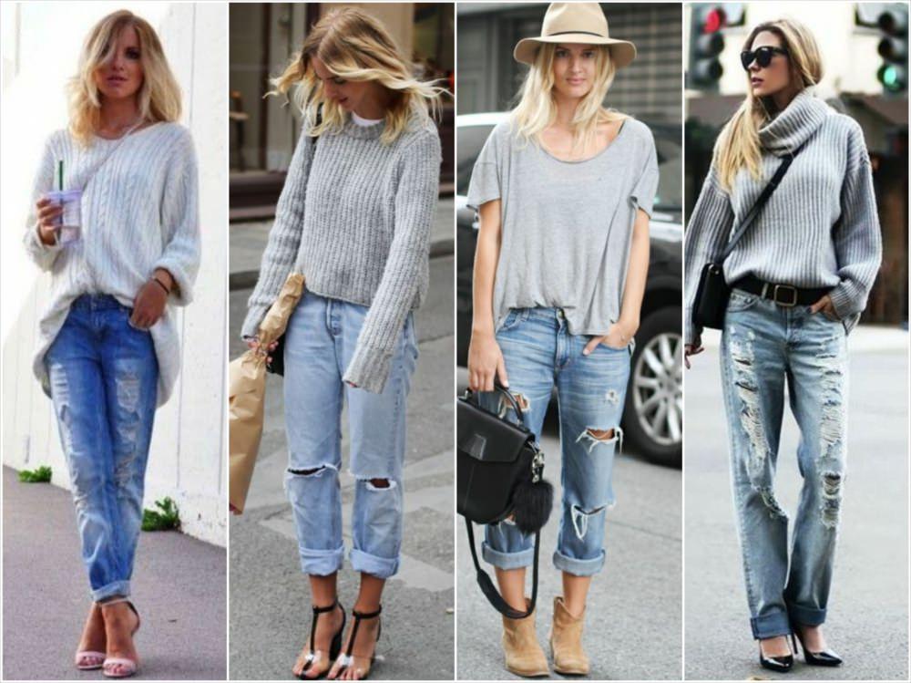 Кому стоит носить джинсы бойфренды