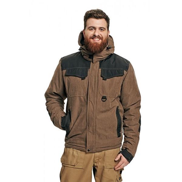 Коричневая куртка и штаны
