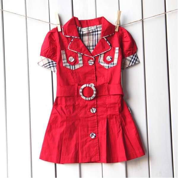 Красное платье для маленькой девочки