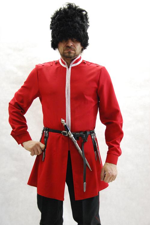 Красный бешмет