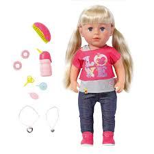Кукла-девочка в розовой одежде