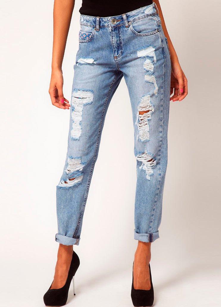 Летние джинсы для женщин