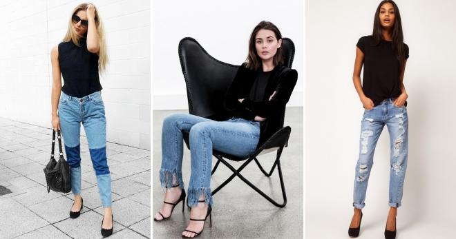 Летние джинсы – с чем носить и как создать модный образ