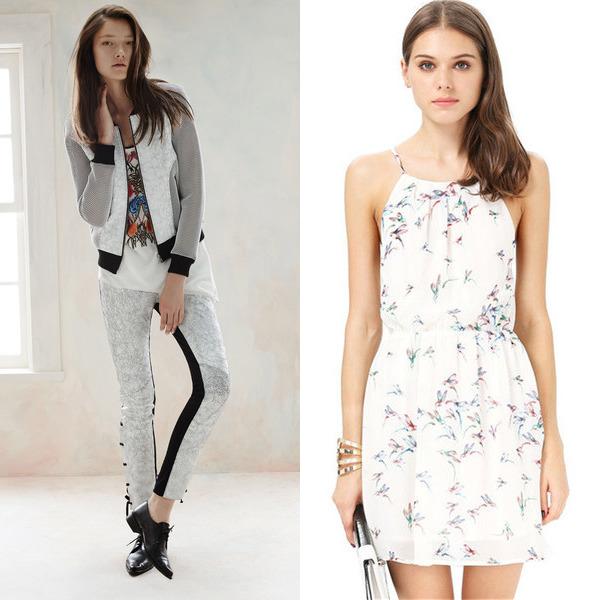 Летние комплекты одежды для девушек