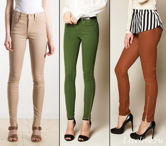 Летние женские джинсы позволяют создать эффектный образ