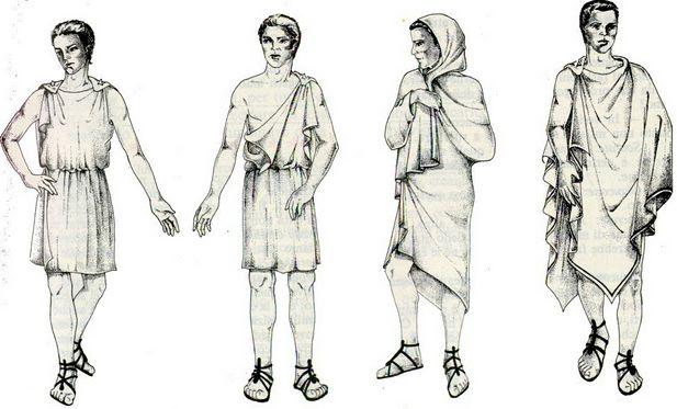 Мода Древней Греции