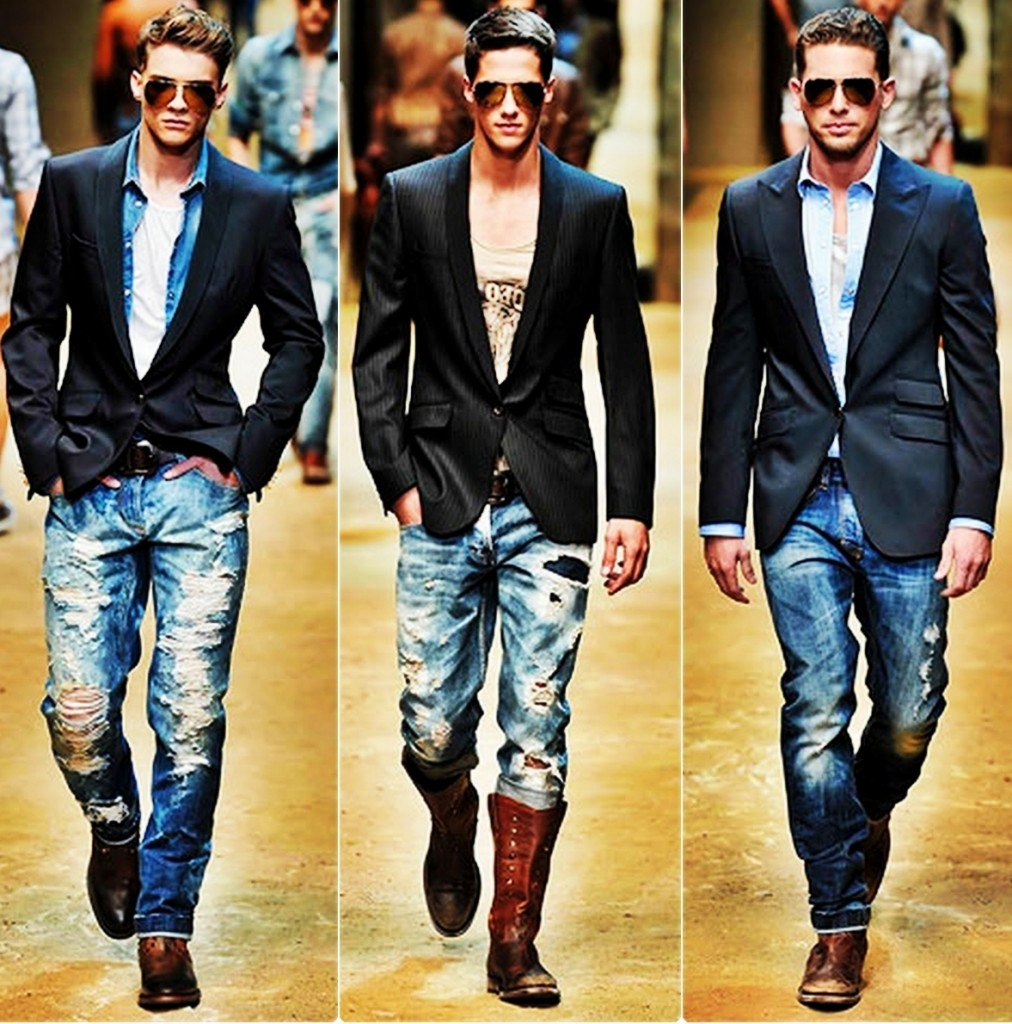 Мода джинсовая