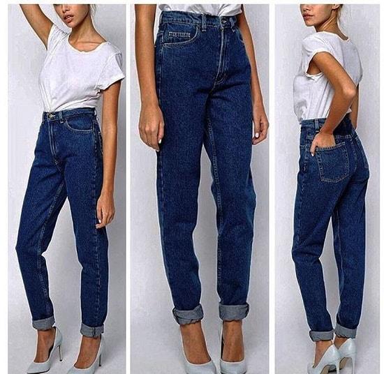 Мода на бананы джинс