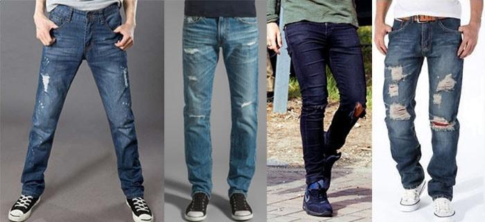 Мода на джинсы