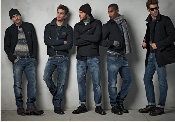 Мода на прямые джинсы