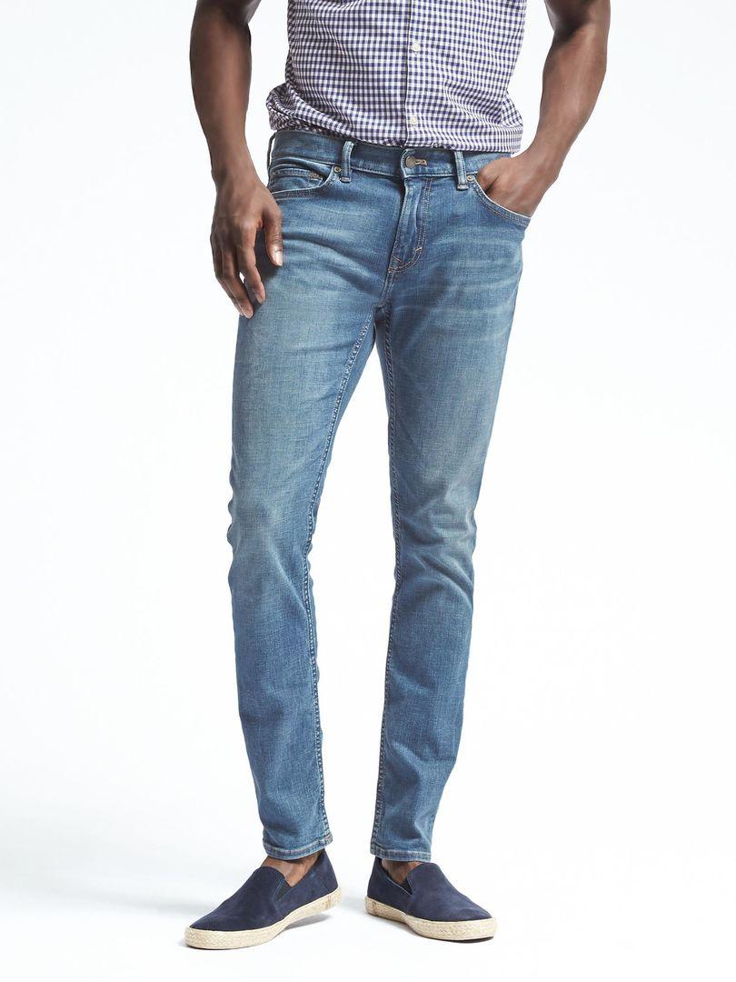Модель джинс