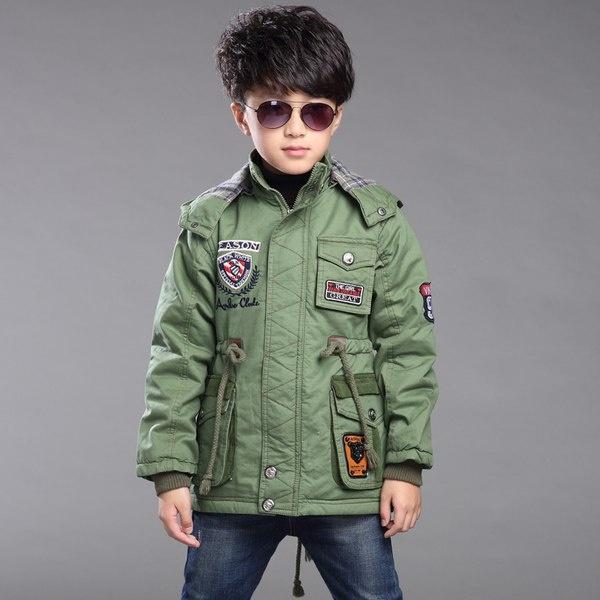 Модная куртка парка