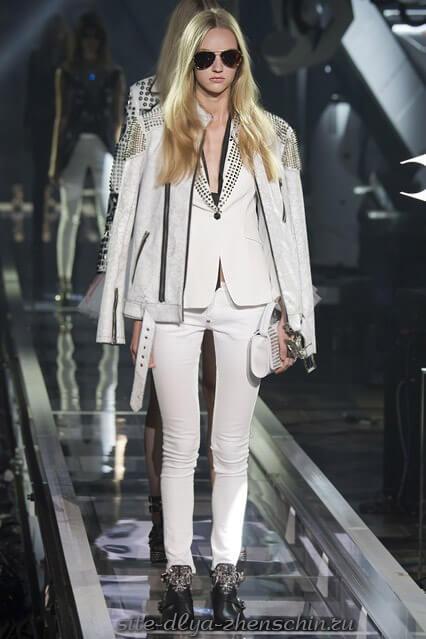 Модные белые джинсы из коллекции весна-лето
