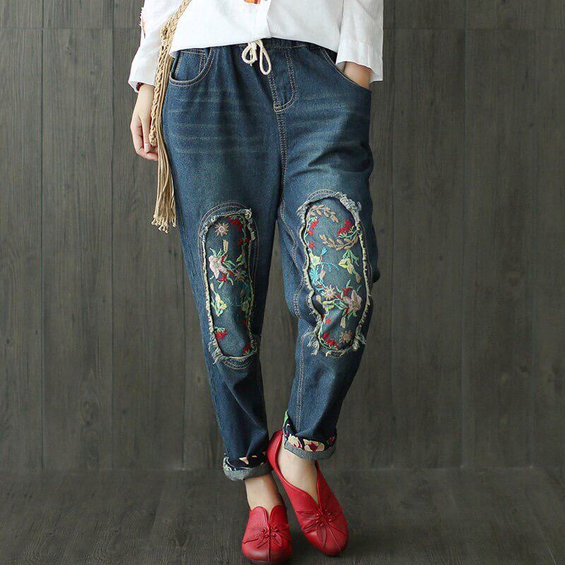 Модные джинсы - бананы